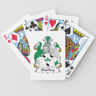 Sharkey Family Crest Bicycle Card Deck