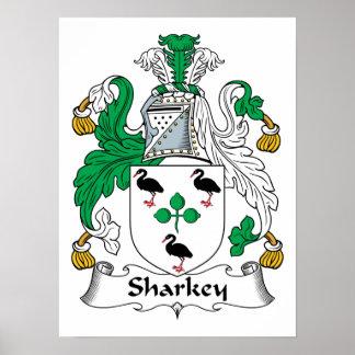 Sharkey Family Crest Print