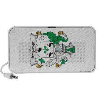 Sharkey Family Crest Portable Speakers