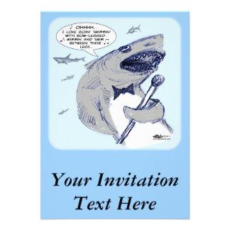 Sharkey Finatra Swimmin Comunicados Personalizados