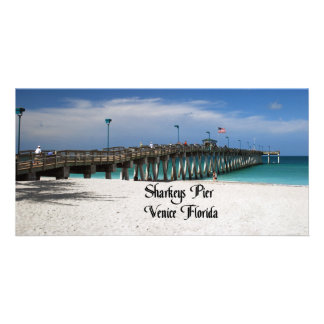 Sharkeys Pier Photo Card