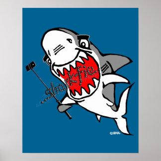 Sharkfie Poster