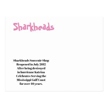 Sharkheads Souvenir Shop - Biloxi MS Postcard