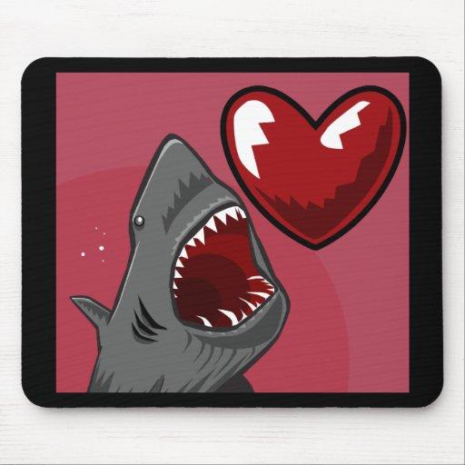 Sharkheart Alfombrilla De Ratones