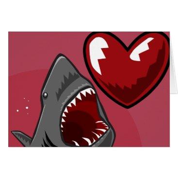 Valentines Themed Sharkheart Card