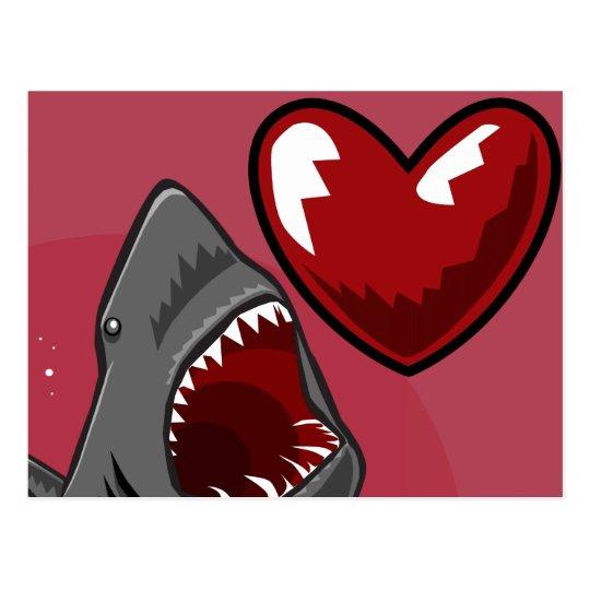 Sharkheart Postcard