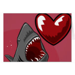 Sharkheart Tarjeta De Felicitación
