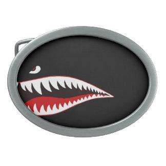 Sharkmouth Belt Buckle