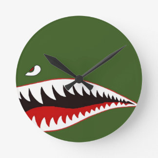 Sharkmouth Clock