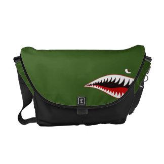 Sharkmouth Commuter Bag