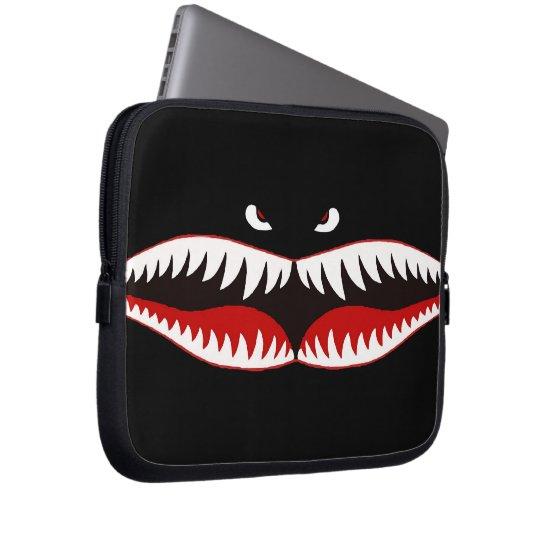 Sharkmouth Laptop Sleeve