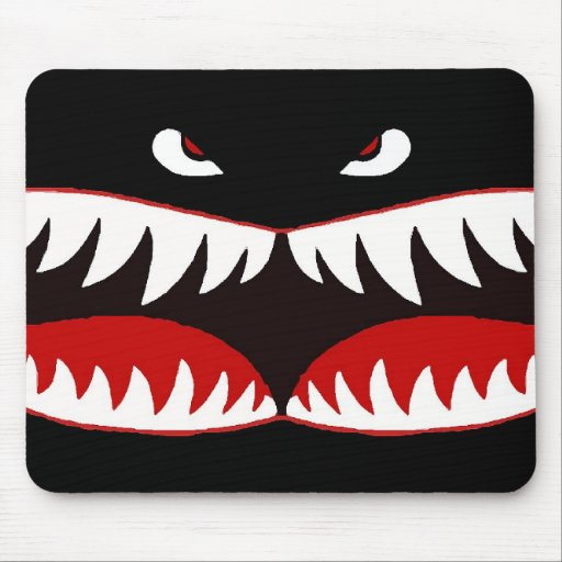 Sharkmouth Mouse Pad