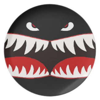 Sharkmouth Party Plate