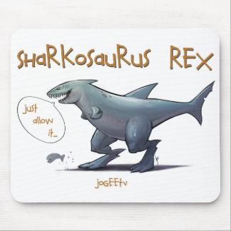 Sharkosaurus REX Mouse Pad