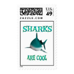 Sharks are Cool Stamps
