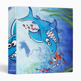 Sharks are Furious, Stop Finning! Binder