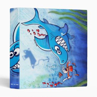 Sharks are Furious, Stop Finning! Binder
