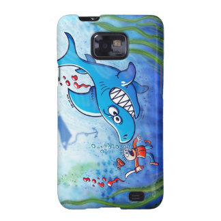 Sharks are Furious, Stop Finning! Samsung Galaxy S2 Cover