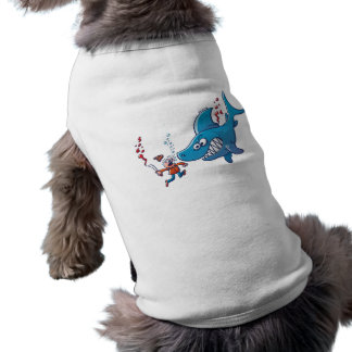 Sharks are Furious, Stop Finning! Dog Tshirt