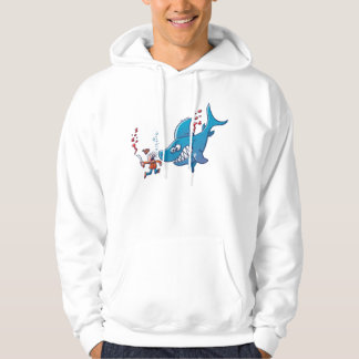Sharks are Furious, Stop Finning! Hooded Pullovers