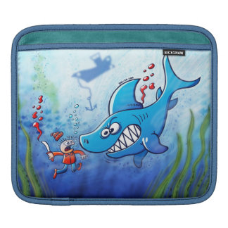 Sharks are Furious, Stop Finning! Sleeves For iPads
