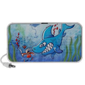Sharks are Furious, Stop Finning! Notebook Speaker