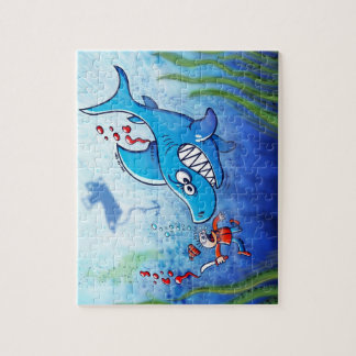 Sharks are Furious, Stop Finning! Jigsaw Puzzle