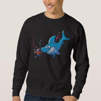 Sharks are Furious, Stop Finning! Sweatshirt