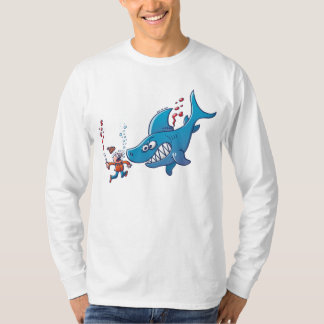 Sharks are Furious, Stop Finning! T-Shirt