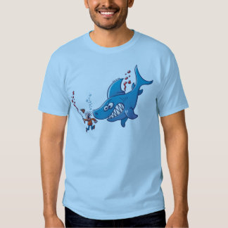 Sharks are Furious, Stop Finning! Tee Shirts
