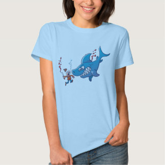 Sharks are Furious, Stop Finning! Tshirts