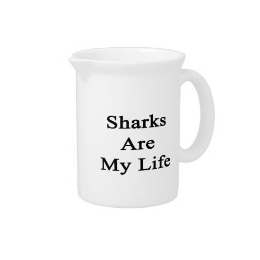 Sharks Are My Life Pitchers