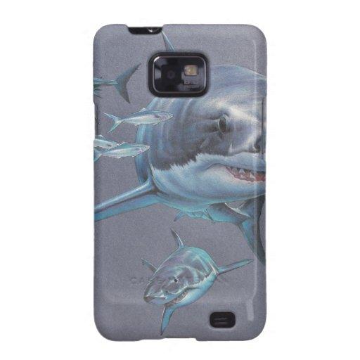 Sharks at Bay Samsung Galaxy S2 Cover