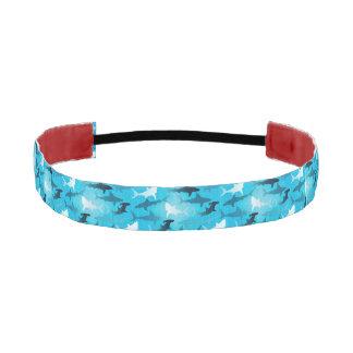 sharks! athletic headband