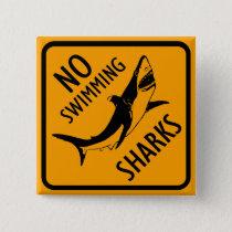 Sharks Australia Sign Pinback Button