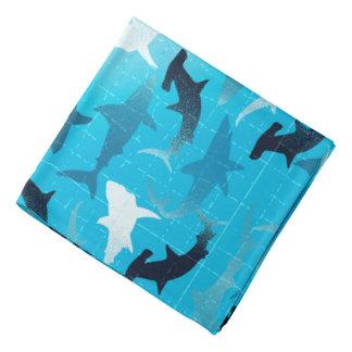 sharks! bandana