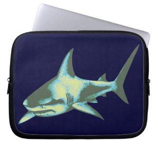 sharks, be careful laptop sleeves