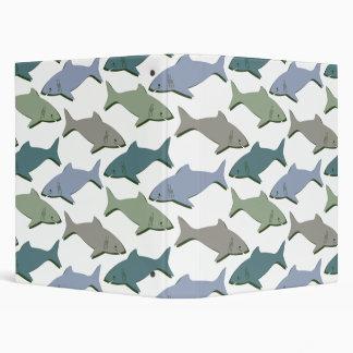 SHARKS! VINYL BINDERS