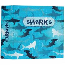 sharks! binder