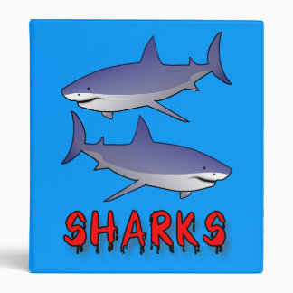 sharks binder