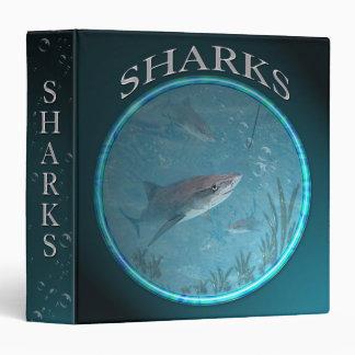 Sharks Binder 3 Ring Binders