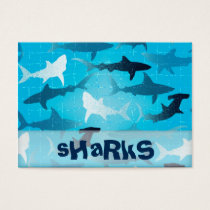 sharks business card