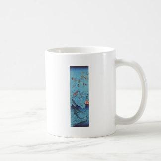 Sharks by Utagawa Kuniyoshi Coffee Mug