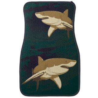 Sharks Car Floor Mat