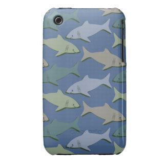 SHARKS! iPhone 3 Case-Mate CASES