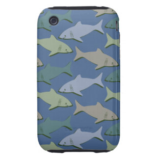 SHARKS! iPhone 3 TOUGH COVER