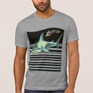 sharks, caution, dangerous T-Shirt