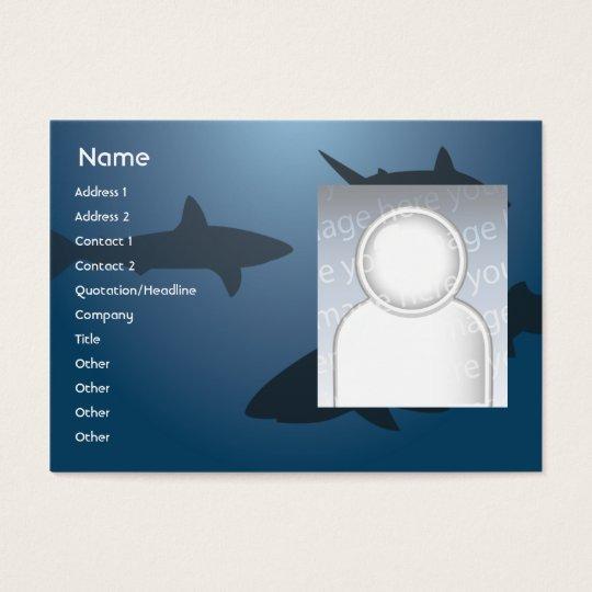 Sharks - Chubby Business Card