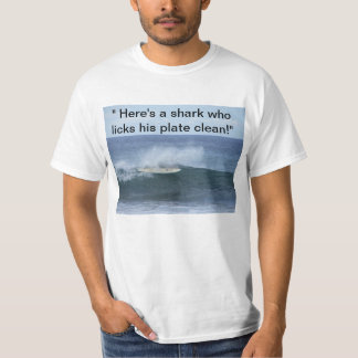 Shark's Clean plate T-shirt