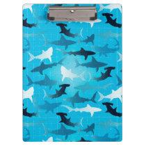 sharks! clipboard